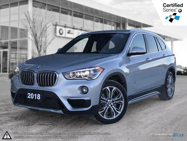 2018 BMW X1 Xdrive28i -- Apple Carplay Prep -- Head Up Display SAV