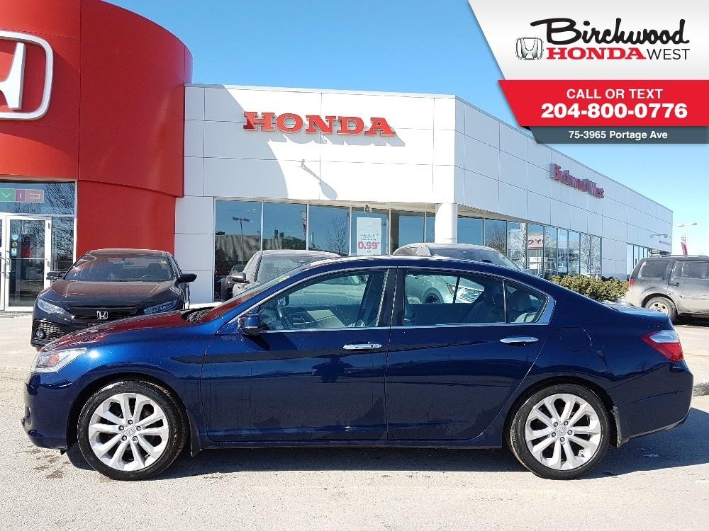 2015 Honda Accord Touring Navigation, Leather Seats, Fully Loaded! Sedan