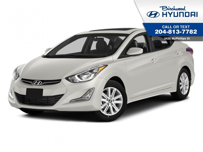2014 Hyundai Elantra GLS Sunroof Rear Camera W/ Winter Tires Sedan