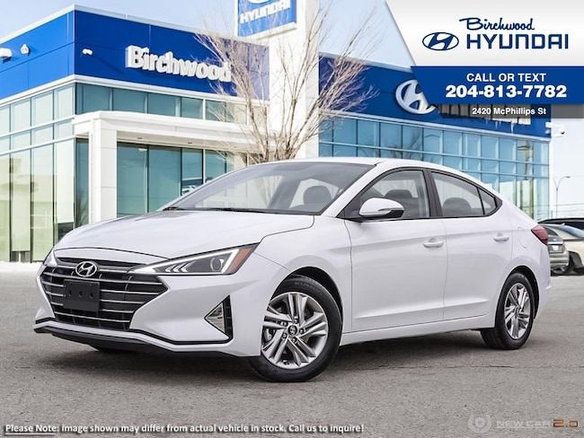 2019 Hyundai Elantra Preferred Sun & Safety Pkg Sedan