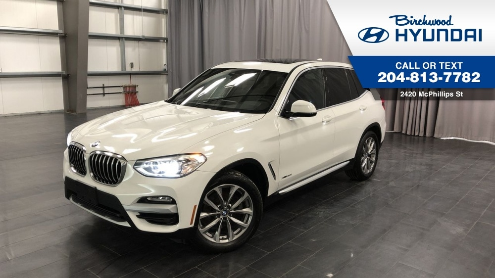 2018 BMW X3 Xdrive30i Prem Pkg Essential *Navigation Apple Car SUV
