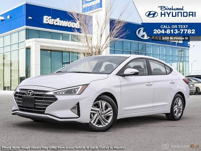 2019 Hyundai Elantra Preferred Sun & Safety Pkg Sedan