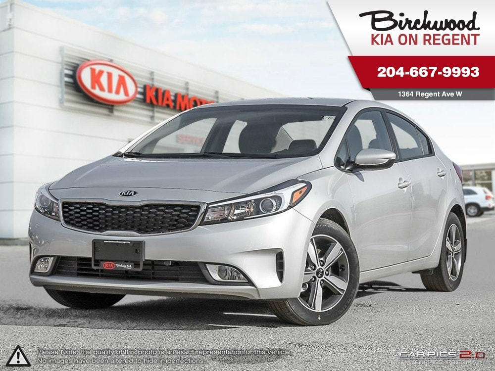 2018 Kia Forte LX+ Heated Seats! Rear Cam! Android Auto! Sedan