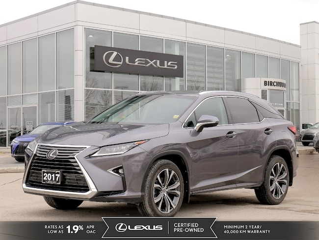 2017 LEXUS RX 350 AWD 4dr Luxury Package SUV