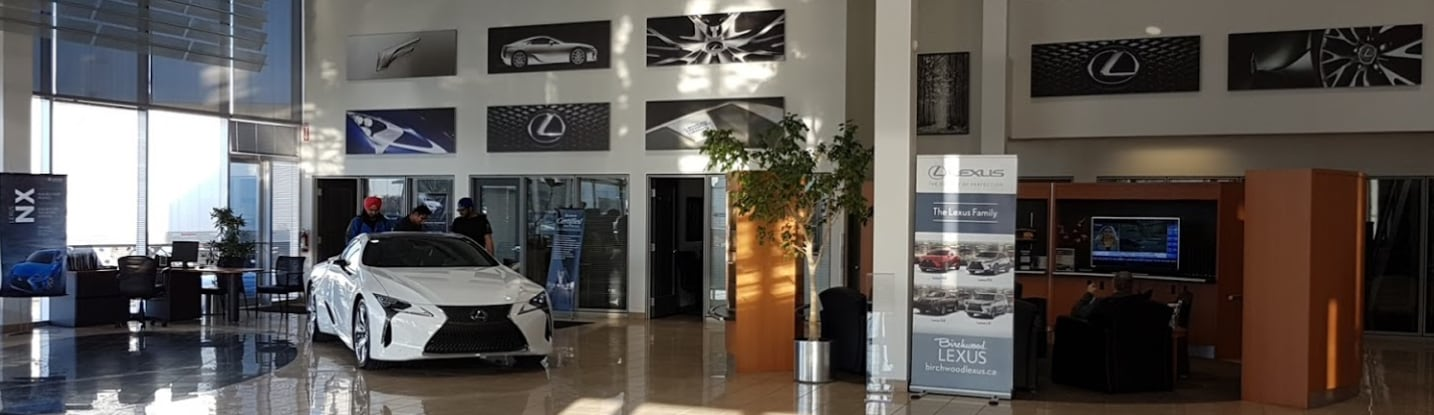 Lexus Dealership in Winnipeg