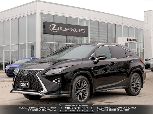 2016 LEXUS RX 350 AWD 4dr F-Sport 3 Package SUV