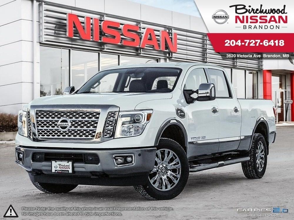 2018 Nissan Titan Platinum Reserve Diesel, Leather, NAV,12000LB TOW Truck