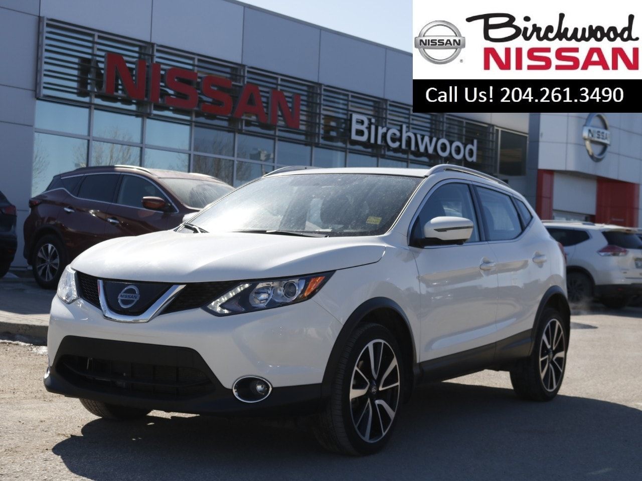 2018 Nissan Qashqai SL AWD Save Thousands From New! Sedan