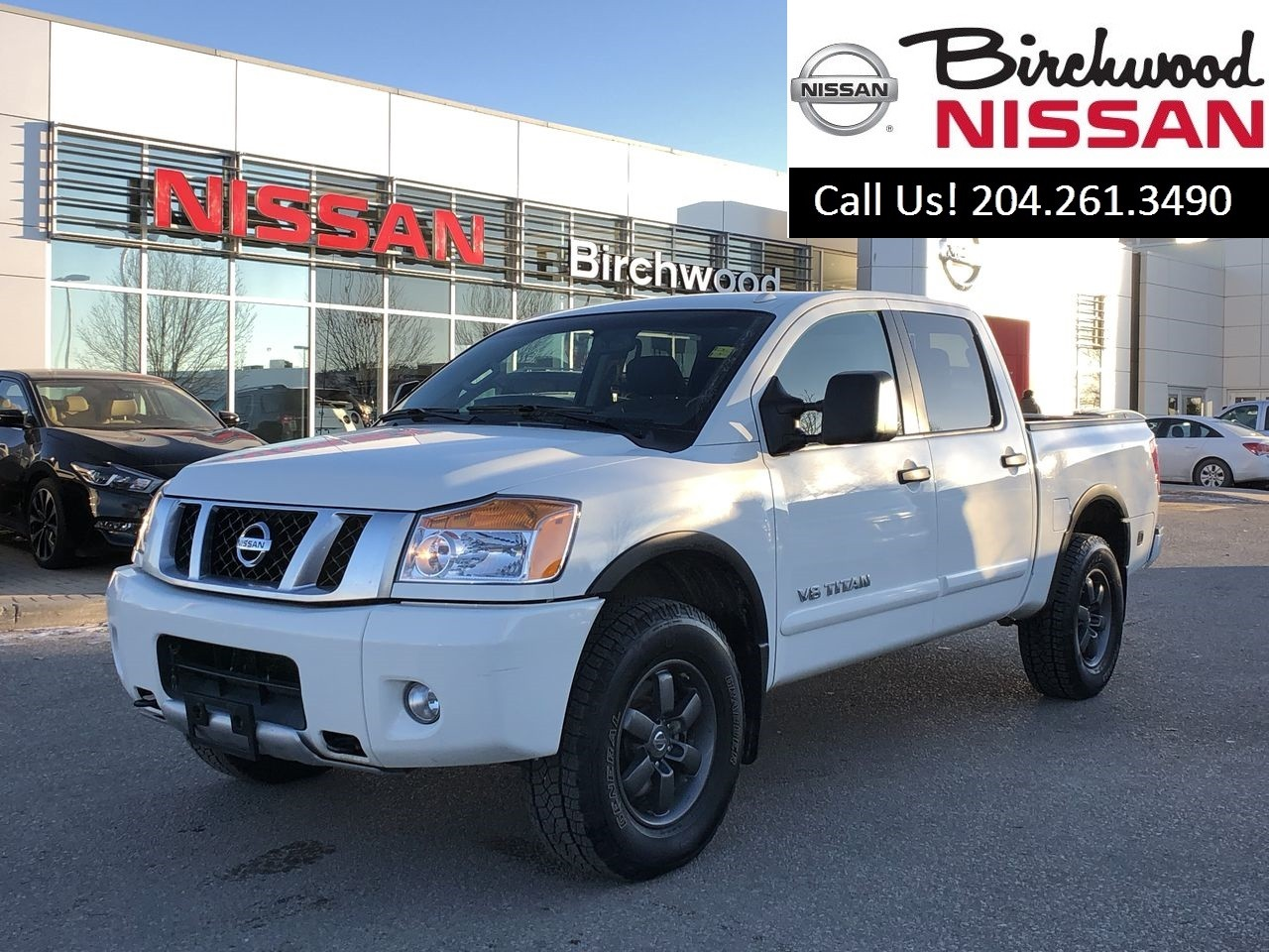 2015 Nissan Titan PRO-4X Bought And Serviced At Birchwood Nissan! Truck