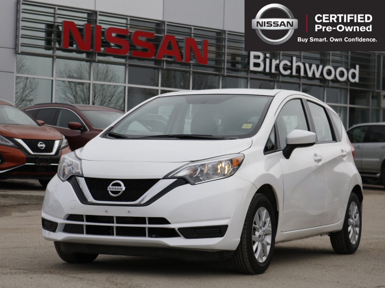 2018 Nissan Versa Note SV Certified Pre-Owned! Sedan