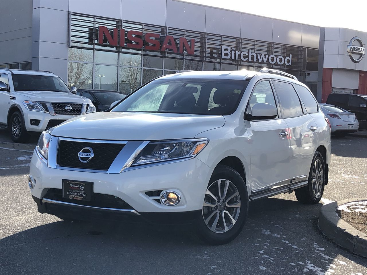 2015 Nissan Pathfinder SL Bought And Serviced At Birchwood Nissan! SUV