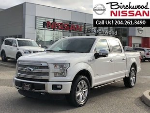 2015 Ford F-150 Platinum Fully Loaded , 4x4 , Crew Cab Truck