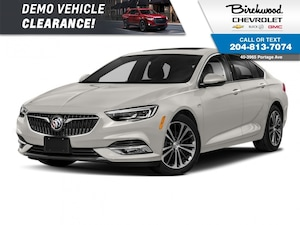2018 Buick Regal Sportback GS Head Up Display - Demo Savings!