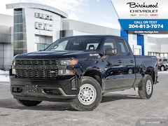 2019 Chevrolet Silverado 1500 WT 4WD, DBL Cab, Spray-On Bedliner Truck Double Cab