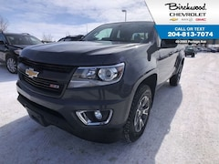 2017 Chevrolet Colorado 4WD Z71 Remote Start, Heated Seats Truck Crew Cab