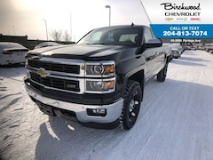 2014 Chevrolet Silverado 1500 LTZ Crew 4WD Leather Sunroof Navi Truck Crew Cab