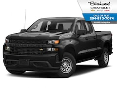 2019 Chevrolet Silverado 1500 Work Truck DBL Cab, 4WD, Rear Camera Truck Double Cab