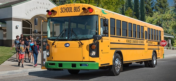 All American - RE - Electric | Bird Bus Sales