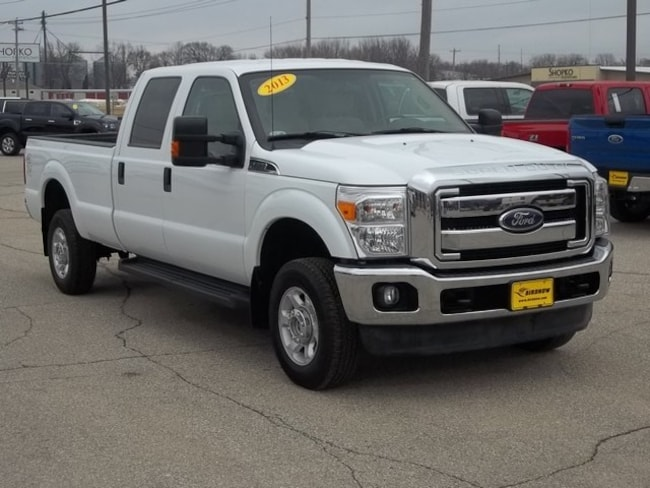 2013 Ford F-350 Super Duty Truck Crew Cab