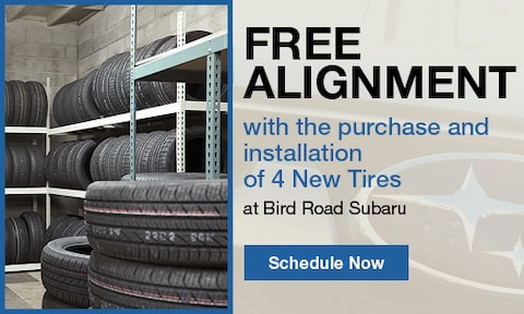 Free Alignment with Tire Purchase & Installation