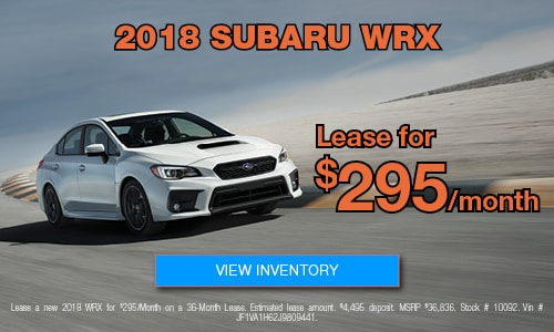 Subaru Lease Miami Bird Road Subaru