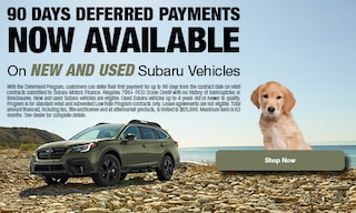 90 Days Deferred Payments Now Available