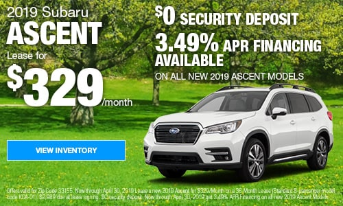 April 2019 Ascent Offers