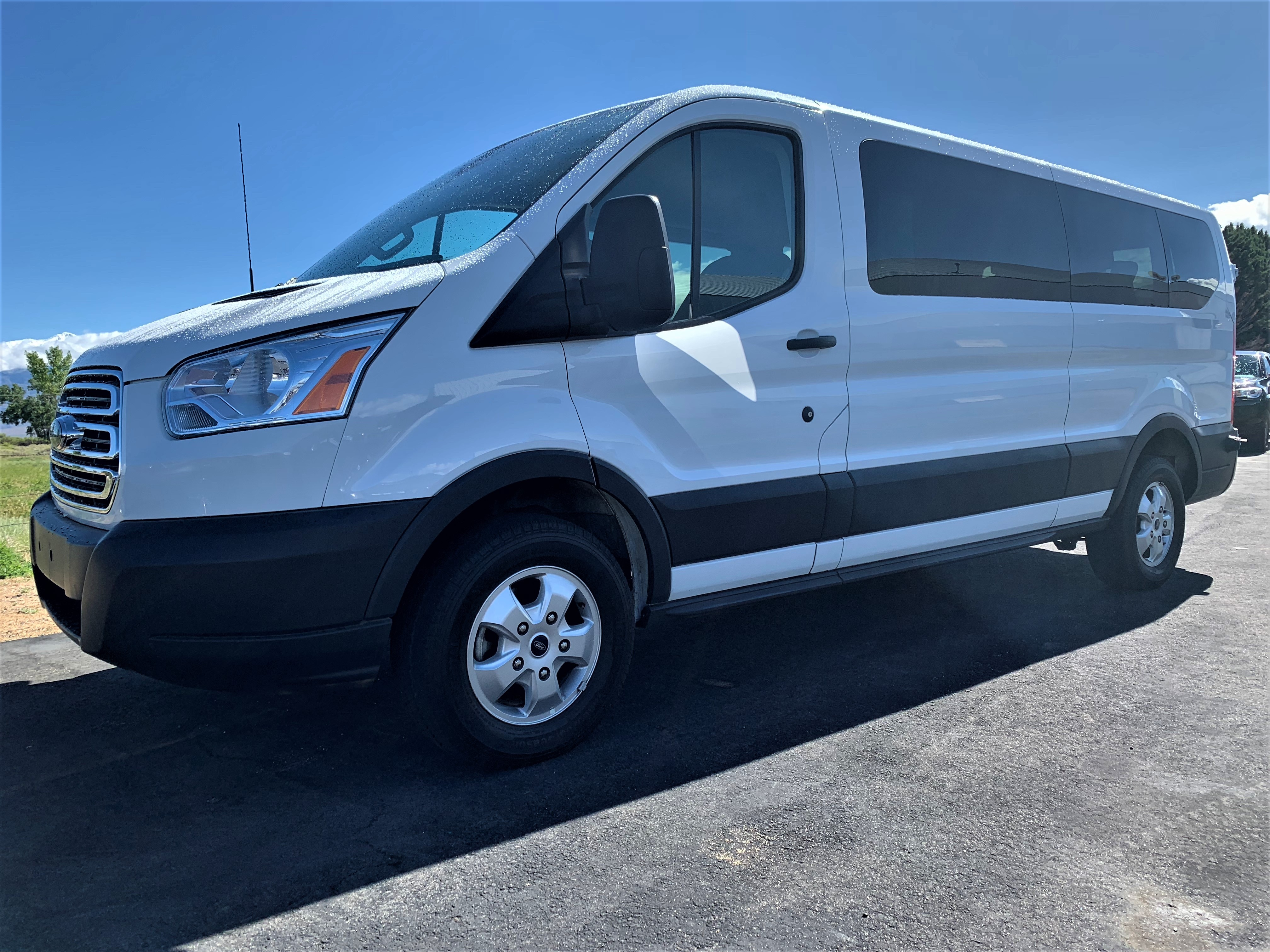 2018 Ford Transit-350 XLT w/Sliding Pass-Side Cargo Door Wagon Low Roof Passenger Wagon