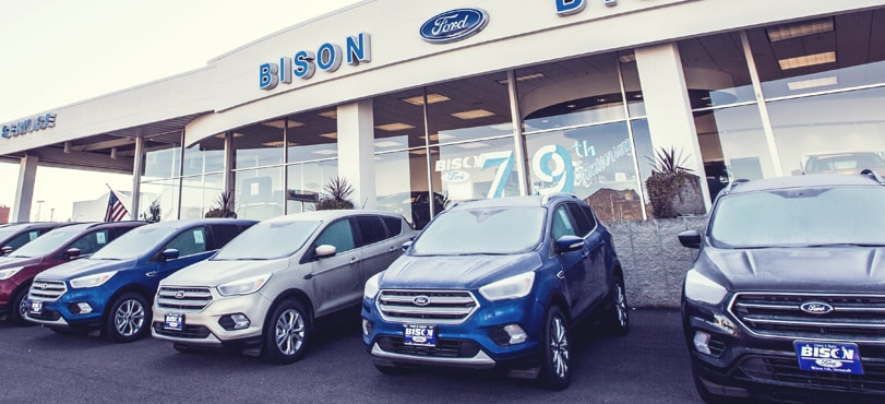 new ford and used car dealer bison ford great falls mt