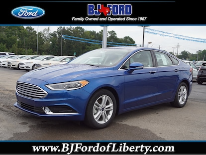New 2018 Ford Fusion For Sale At B J Ford Inc Vin