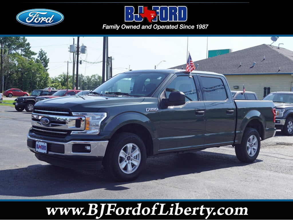 2018 Ford F-150 XLT 4x2 XLT  SuperCrew 5.5 ft. SB