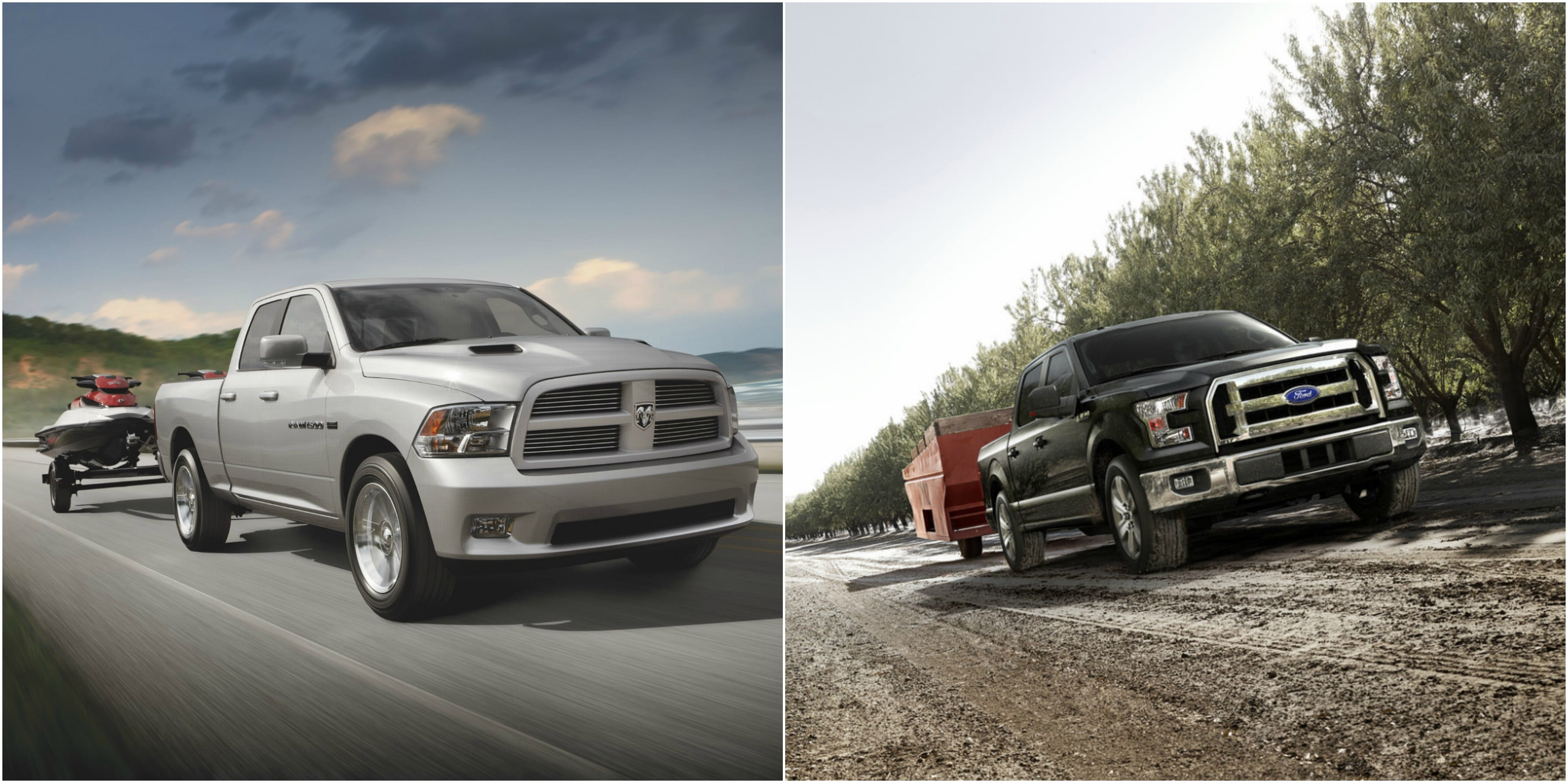 Ram 1500 vs. Ford F-150 - Performance