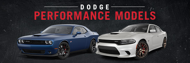 SRT Performance Lineup