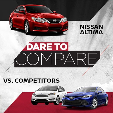 Nissan Altima vs Competition