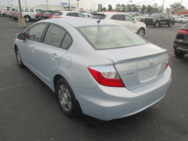... 2012 Honda Civic Hybrid Base W/Navi Sedan ...