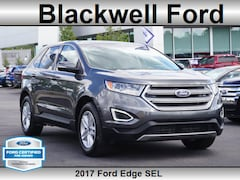 Certified Pre-Owned 2017 Ford Edge SEL AWD SEL  Crossover for sale in Plymouth, MI