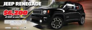 New Jeep Renegade at Blaise Alexander Chrysler Dodge Jeep Ram of Hazleton