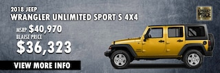 New Year New Ride in a Yellow Jeep at Blaise Alexander CDJR of Hazleton