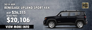 New Year New Ride in a Jeep Renegade at Blaise Alexander CDJR of Hazleton