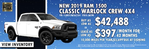 New Year New Ram 1500 Classic at Blaise Alexander CDJR of Mansfield