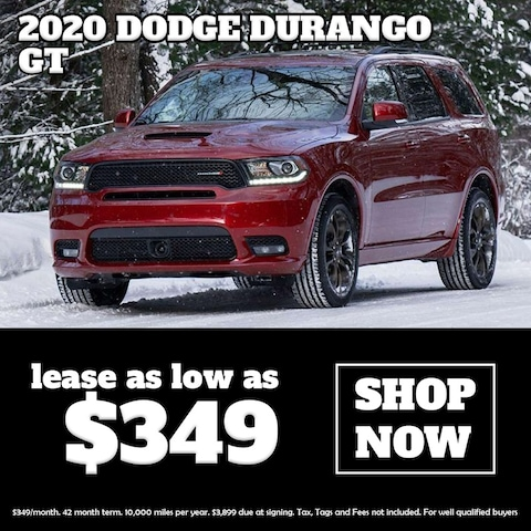 Lease a New Dodge Durango at Blaise Alexander CDJR of Mansfield