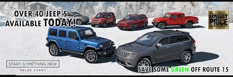 New Year New Jeep at Blaise Alexander CDJR of Mansfield