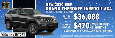 New Year New Jeep Grand Cherokee at Blaise Alexander CDJR of Mansfield