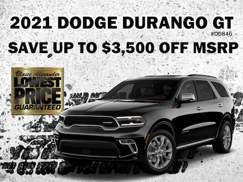 Save Up To $3,500 Off A New Dodge Durango