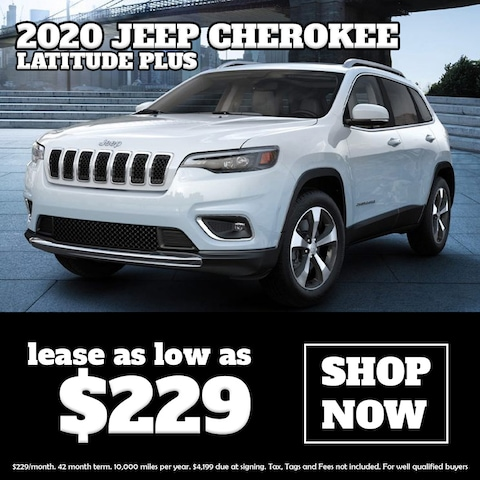 Lease a New Jeep Cherokee at Blaise Alexander CDJR of Mansfield