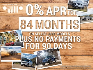 0% APR for 84 Months on Select Jeep Models