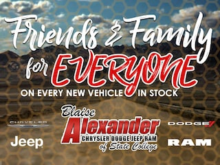 Friends & Family Pricing on Every New Vehicle