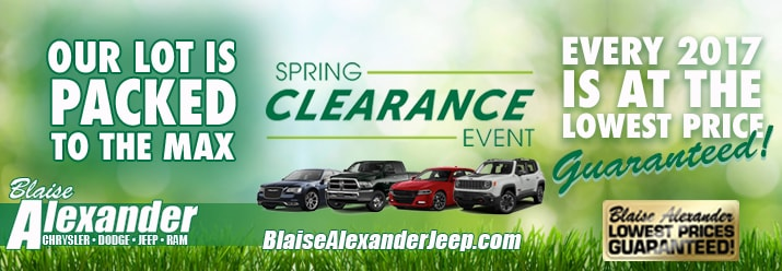 Blaise Alexander State College Pa >> Blaise Alexander Chrysler Jeep Dodge FIAT | New Dodge ...