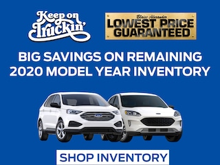 Big Savings On Remaining 2020 Model Year Inventory