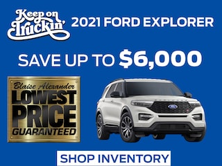 Find Your New 2021 Ford Explorer at Blaise Alexander Ford in Lewisburg